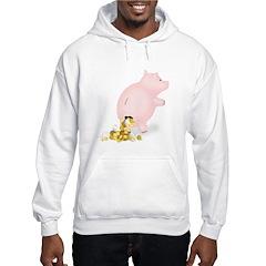 Incontinent Piggy Bank Hoodie