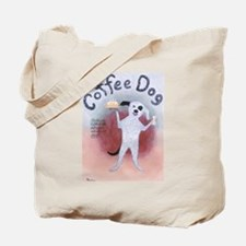 Coffee Dog Tote Bag