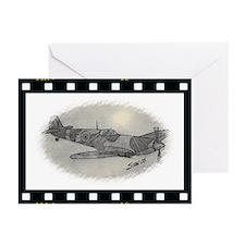 Spitfire digi Greeting Cards (Pk of 10)
