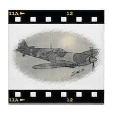 Spitfire digi Tile Coaster