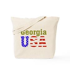 Georgia USA Tote Bag
