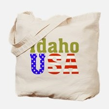 Idaho USA Tote Bag