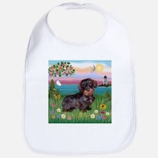 Lighthouse / Dachshund Bib