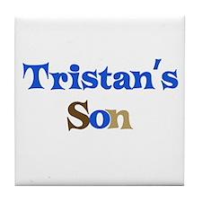 Tristan's Son Tile Coaster