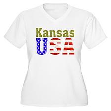 Kansas USA T-Shirt