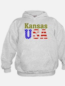 Kansas USA Hoodie