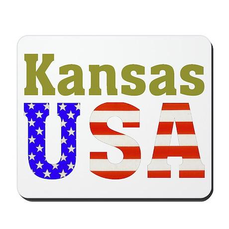 Kansas USA Mousepad