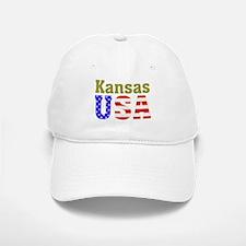 Kansas USA Baseball Baseball Cap
