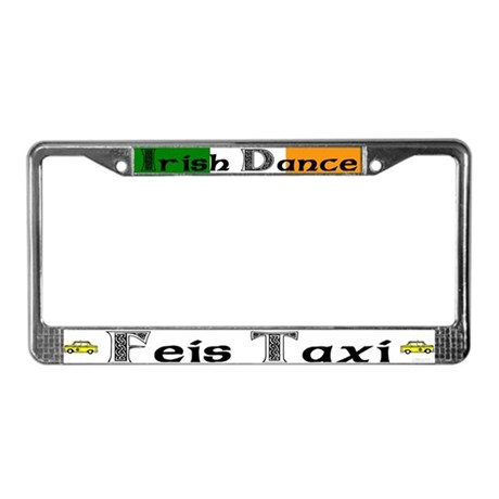 Feis Taxi - License Plate Frame