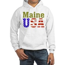 Maine USA Hoodie
