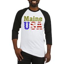 Maine USA Baseball Jersey