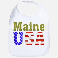 Maine USA Bib