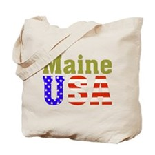 Maine USA Tote Bag