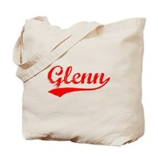 Vintage Glenn (Red) Tote Bag