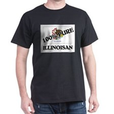 100 Percent Illinoisan T-Shirt
