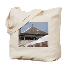 Old Fort Niagara Guardhouse In Winter Tote Bag