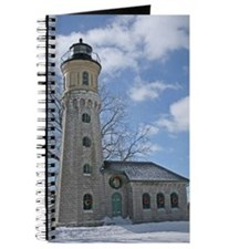 Old Fort Niagara Lighthouse In Winter Journal