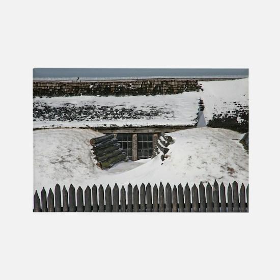 Old Fort Niagara Bunker Rectangle Magnet