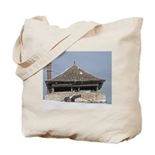 Historic Guard Tower And Cannon Tote Bag