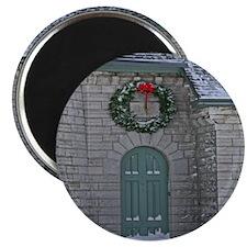 A Lighthouse Christmas Magnet