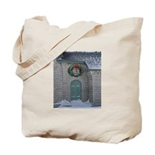 A Lighthouse Christmas Tote Bag