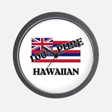 100 Percent Hawaiian Wall Clock