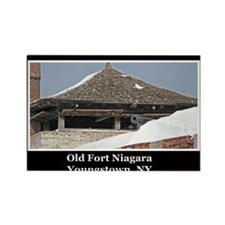 Old Fort Niagara Souvenirs Rectangle Magnet