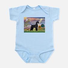 Cloud Angel & Giant Schnauzer Infant Bodysuit