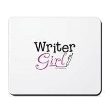 Writer Girl Mousepad