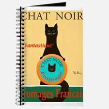 Chat Noir II (Black Cat) Journal