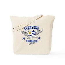 Everyone loves an Uruguayan girl Tote Bag