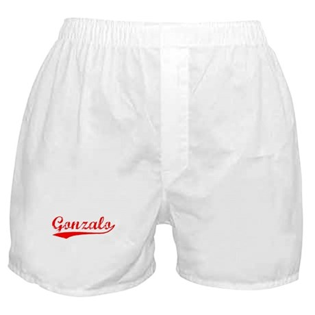 Vintage Gonzalo (Red) Boxer Shorts