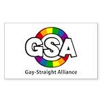 GSA ToonA Rectangle Sticker 50 pk)