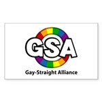 GSA ToonA Rectangle Sticker 10 pk)