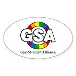 GSA ToonA Oval Sticker (10 pk)