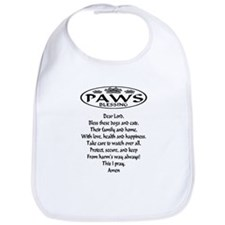 Paws Blessing for dogs & cats Bib