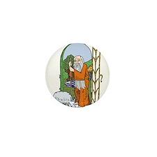 Hermit Mini Button
