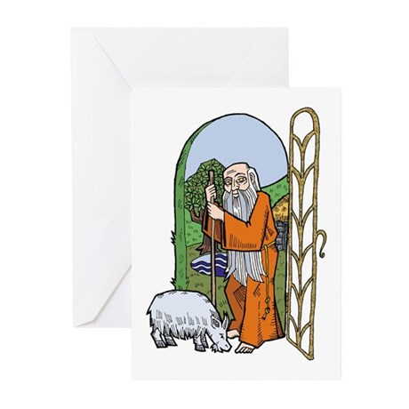 Hermit Greeting Cards (Pk of 10)