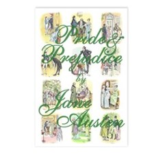 Pride and Prejudice Postcards (Package of 8)