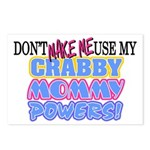 Crabby Mommy Powers Postcards (Package of 8)