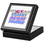 Crabby Mommy Powers Keepsake Box