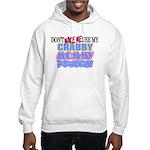 Crabby Mommy Powers Hooded Sweatshirt