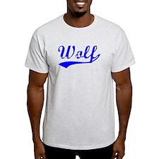 Vintage Wolf (Blue) T-Shirt