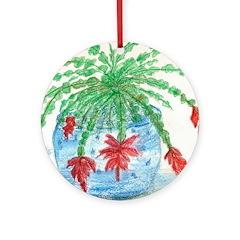 Cactus Ornament (Round)