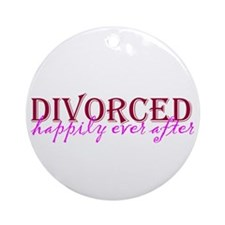 Divorced Ornament (Round)