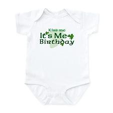 Kiss Me Irish Birthday Infant Bodysuit
