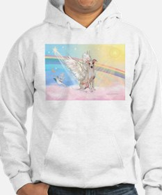 Clouds / Italian Greyhound Hoodie