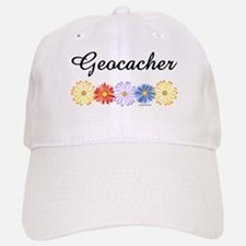 Geocacher Asters Baseball Baseball Cap