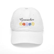 Geocacher Asters Baseball Cap