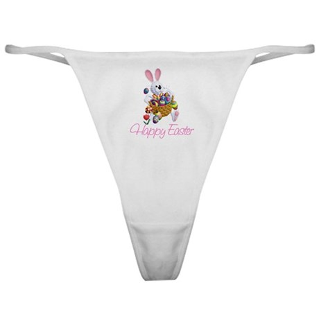 Happy Easter Bunny Classic Thong